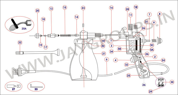 Spray Gun Drawing Spray Gun Cm11 Drawing